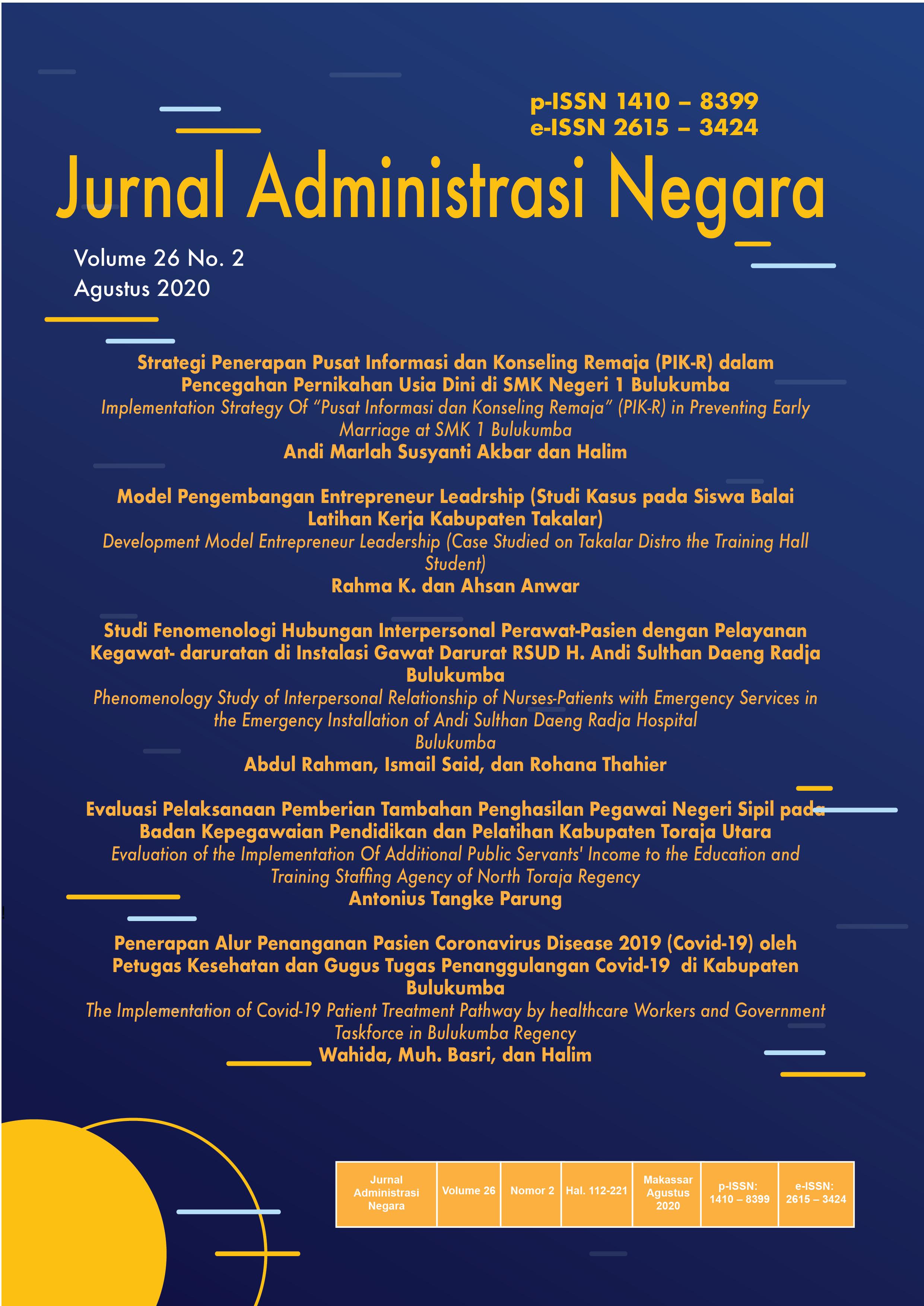 Skripsi Jurusan Administrasi Negara Terbaru